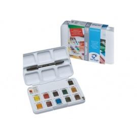 Sada akvarelových barev VanGogh 12 x 1/2 panviček