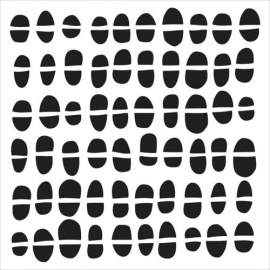 Šablona - 30*30 cm -č.20