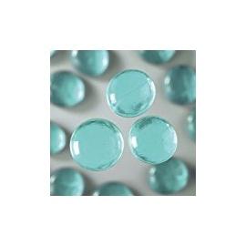 Nugety sklo 100gr - akvamarín 13-15 mm
