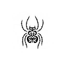 Mini šablona 8*15 cm - 051 pavouk