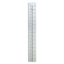 Plastové pravítko pro převod jednotek palce/cm
