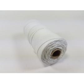 Šnůra 1,5mm bavlna - cca 100 m - bílá