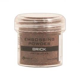 Embossový pudr - brick