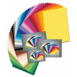 Tonkarton sada 220 gr 25*35 cm - 25 archů v 25 barvách