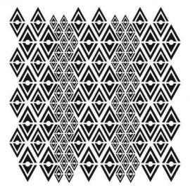 Šablona - 30*30 cm -č.363