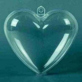 Srdce  plast 60 mm  2.díl