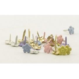 Hřebíčky 20 ks - pastelové květinky