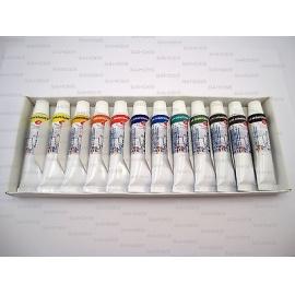 Sada akvarelových barev White Night 12 tuby
