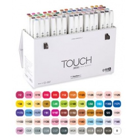Touch marker 60 A ks set  - štětcové