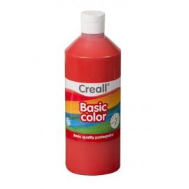 Tempera 500 ml - červená