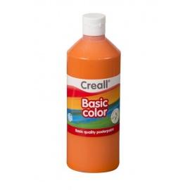 Tempera 500 ml - oranžová