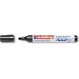 Lakový popisovač edding 1-5 mm - kaligrafický - černý