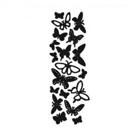 Vyřezávací šablona motýly