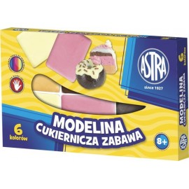 Modelína Astra - barvy cukroví