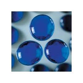 Nugety sklo 100gr- modrá 18-20 mm