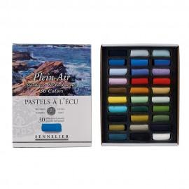 Sada měkkých pastelů Seaside Sennelier extrafine - 30 ks