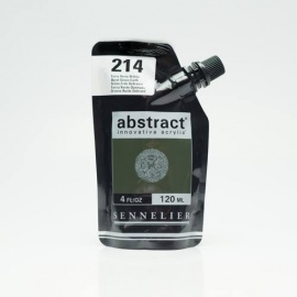 Abstract 120 ml - Burnt Green Earth 241