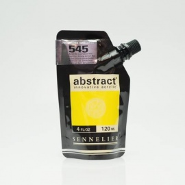 Abstract 120 ml - Gloss Cadmium Yellow lemon Hue 545