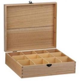 Krabička na čaj 12 přihrádek
