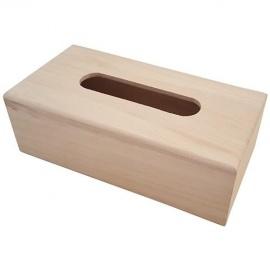 Krabička na kapesníky s výsuvným dnem