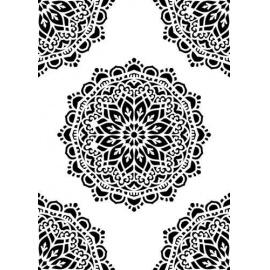 Šablona manadala 15*20 cm