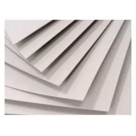 Lepenka bílá bělená  2 MM - 70*100 cm -  100% bavlna