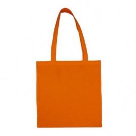 Bavlněná taška 38*42- oranžová dlouhé ucho