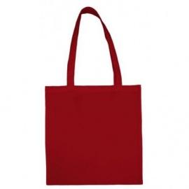Bavlněná taška 38*42- červená dlouhé ucho