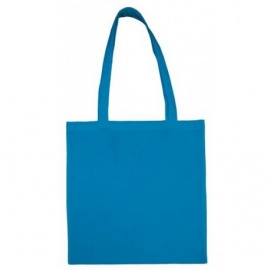 Bavlněná taška 38*42- modrá dlouhé ucho
