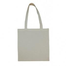 Bavlněná taška 38*42- světle šedá dlouhé ucho