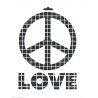 Šablona LOVE A4