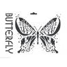 Šablona motýl  A4