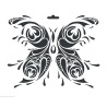 Šablona motýl III  A4