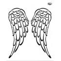 Šablona křídla  A4