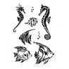 Šablona rybičky A5