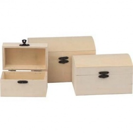 Krabičky sada tří kusů