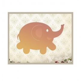 Vyřezávací šablona - slon