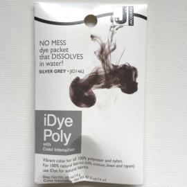 I-dye poly šedá silver