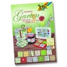 Papíry na scrapbook A4 - zahrada
