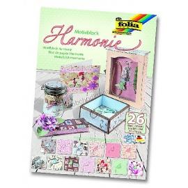 Papíry na scrapbook A4 - harmonie