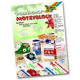 Papíry na scrapbook A4 - vánoce II