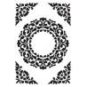 Embos kapsa ornamentální rámeček