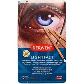 Pastelky 12 ks  Lightfast Derwent