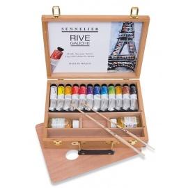 Sada olejových barev Rive Gauche 12*40 ml - kufřík