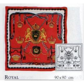 Gutta šátek P5 90*90 cm - Royal