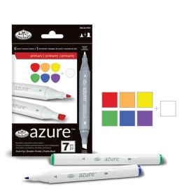 Color markers set basic - 6 ks