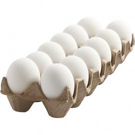 Vajíčko plastové 12 ks včetně krabičky