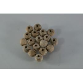 Korálky dřevěné přírodní 10 mm/250 ks