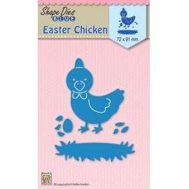 Vyřezávací šablona kuře