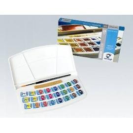 Sada akvarelových barev VanGogh 24 x 1/2 panviček - botanical